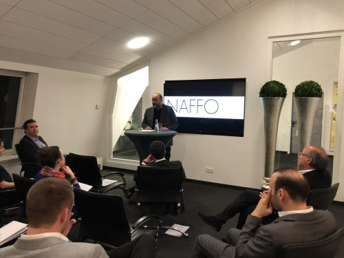 NAFFO Young Professionals Event mit Omid Nouripour MdB in Frankfurt