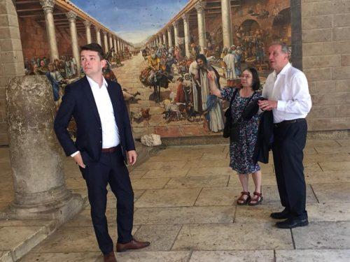 NAFFO mit Verteidigungspolitikern in Israel und den Palästinensischen Gebieten