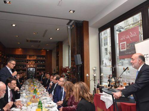 NAFFO Parlamentarisches Frühstück mit Botschafter Ron Prosor