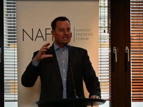 NAFFO Diplomatisches Frühstück mit US-Botschafter Richard A. Grenell