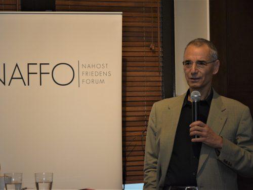 NAFFO Parlamentarisches Frühstück mit Prof. Dr. Michael Wolffsohn