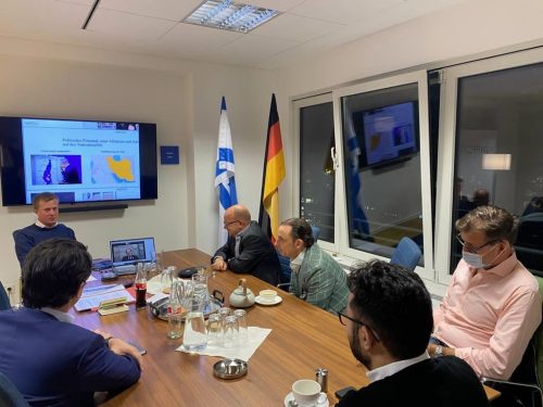 NAFFO-Hybrid Veranstaltung: Die Neue Realität im Nahen Osten